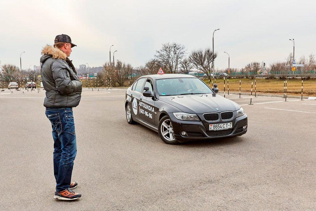 Автодром на улице Инженерная в Минске