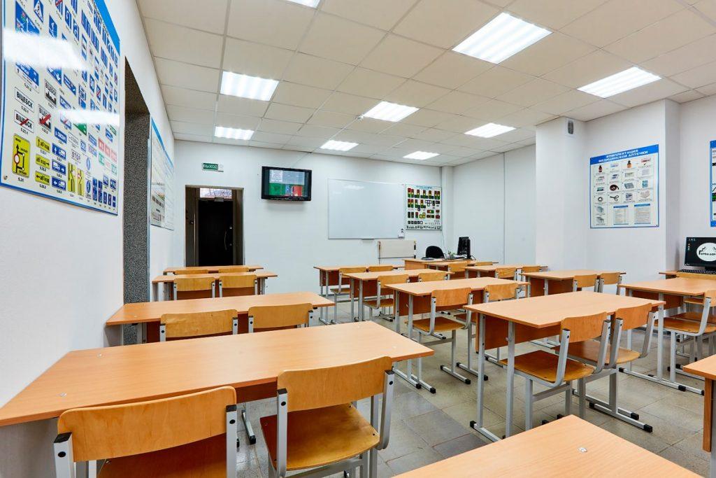 Оборудование учебного кабинета для сдачи на права категории B