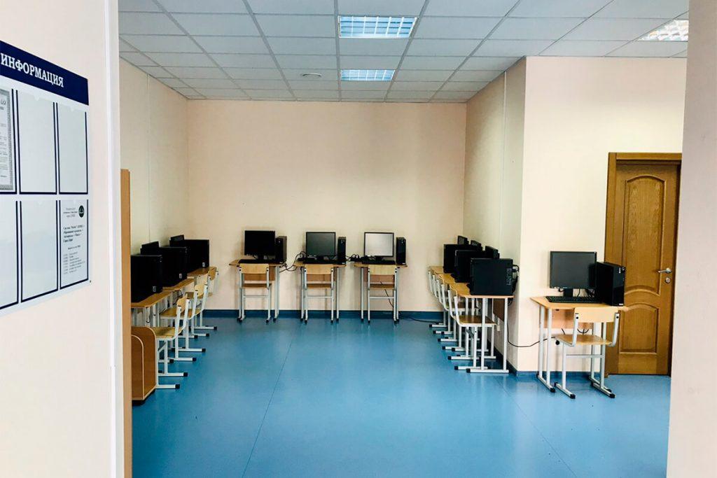 Учебный класс автошколы Город Дорог в Минске на Аэродромной 125